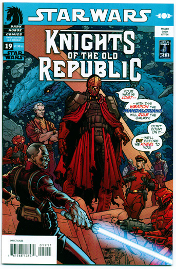 STAR WARS: KNIGHTS OF THE OLD REPUBLIC#19