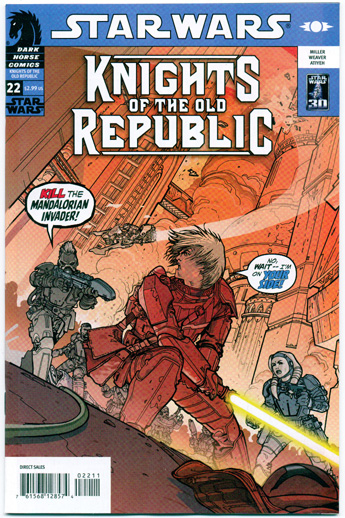 STAR WARS: KNIGHTS OF THE OLD REPUBLIC#22