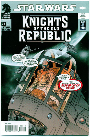 STAR WARS: KNIGHTS OF THE OLD REPUBLIC#23