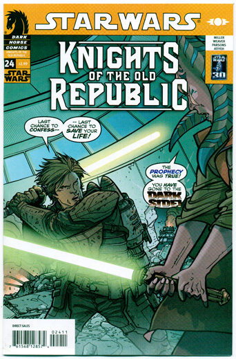 STAR WARS: KNIGHTS OF THE OLD REPUBLIC#24