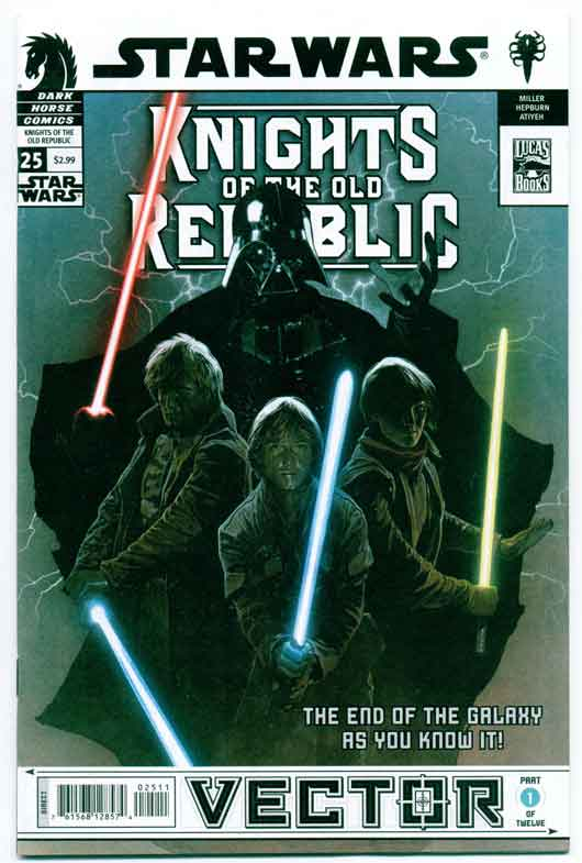 STAR WARS: KNIGHTS OF THE OLD REPUBLIC#25