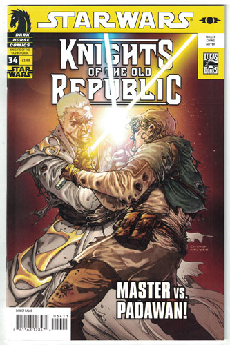 STAR WARS: KNIGHTS OF THE OLD REPUBLIC#34