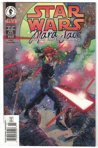 STAR WARS: MARA JADE#6