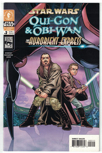 STAR WARS: QUI-GON AND OBI-WAN--THE AURORIENT EXPRESS#2