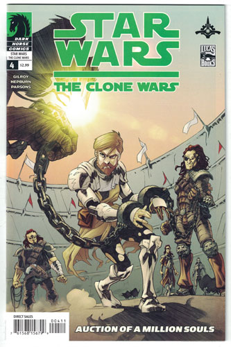 STAR WARS: THE CLONE WARS#4