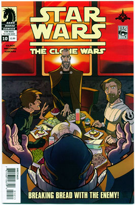 STAR WARS: THE CLONE WARS#10