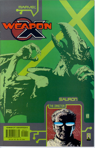 WEAPON X: THE DRAFT--SAURON#1
