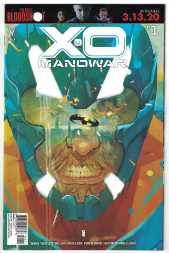 X-O MANOWAR [2020] #1 Ward Cover A