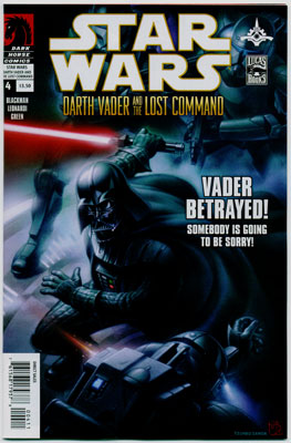 STAR WARS: DARTH VADER AND THE LOST COMMAND#4