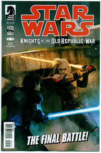 STAR WARS: KNIGHTS OF THE OLD REPUBLIC--WAR#5