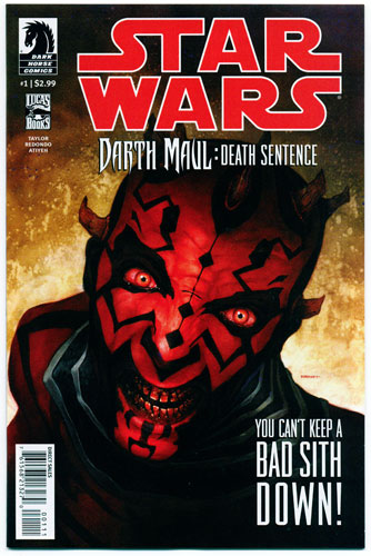 STAR WARS: DARTH MAUL--DEATH SENTENCE#1