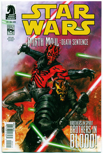 STAR WARS: DARTH MAUL--DEATH SENTENCE#2