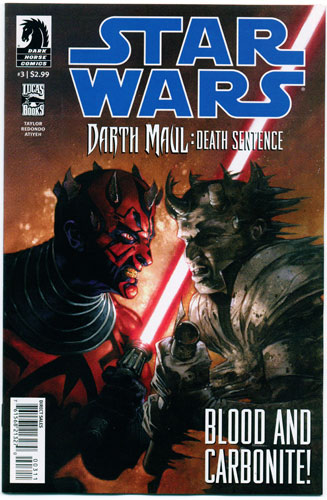 STAR WARS: DARTH MAUL--DEATH SENTENCE#3