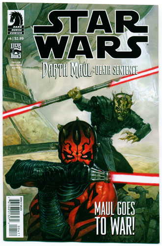 STAR WARS: DARTH MAUL--DEATH SENTENCE#4
