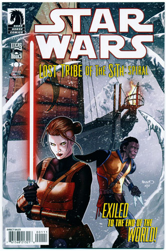 STAR WARS: LOST TRIBE OF THE SITH--SPIRAL#1