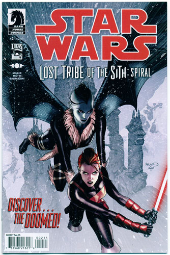 STAR WARS: LOST TRIBE OF THE SITH--SPIRAL#2