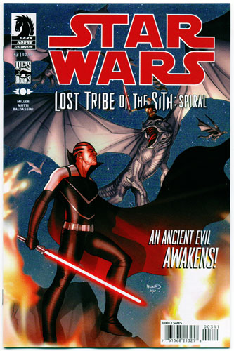STAR WARS: LOST TRIBE OF THE SITH--SPIRAL#3