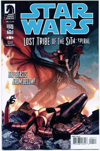 STAR WARS: LOST TRIBE OF THE SITH--SPIRAL#4