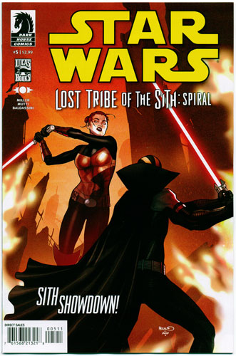 STAR WARS: LOST TRIBE OF THE SITH--SPIRAL#5
