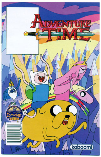 ADVENTURE TIME HALLOWEEN ASHCAN