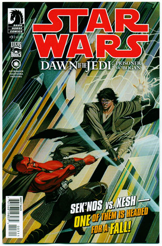 STAR WARS: DAWN OF THE JEDI--PRISONER OF BOGAN#3