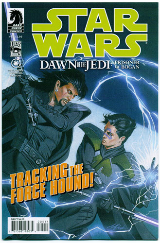 STAR WARS: DAWN OF THE JEDI--PRISONER OF BOGAN#5