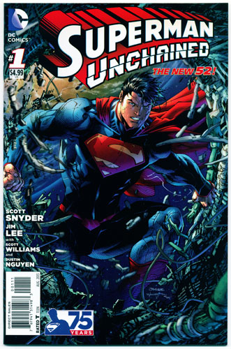 SUPERMAN UNCHAINED#1
