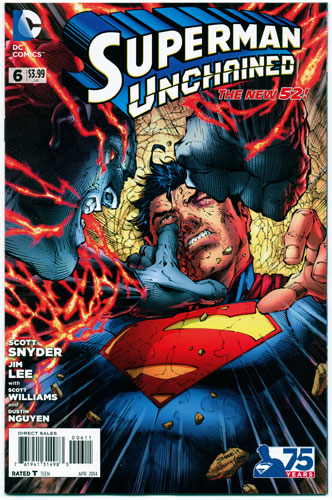 SUPERMAN UNCHAINED#6