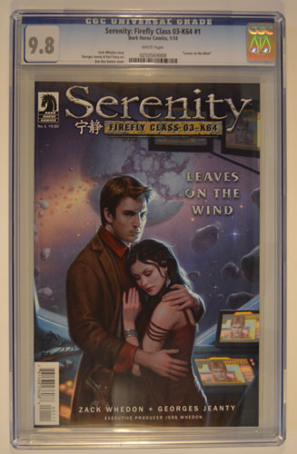 SERENITY: FIREFLY CLASS 03-K64--LEAVES ON THE WIND#1