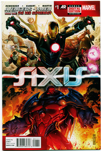 AVENGERS AND X-MEN: AXIS#1