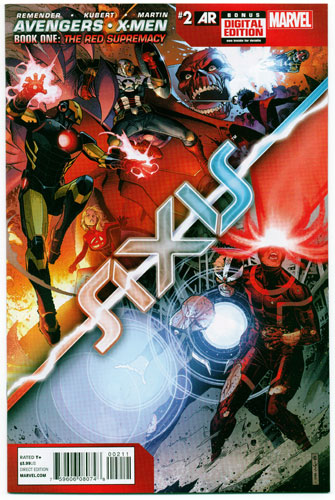 AVENGERS AND X-MEN: AXIS#2