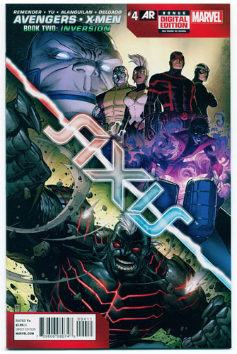 AVENGERS AND X-MEN: AXIS#4