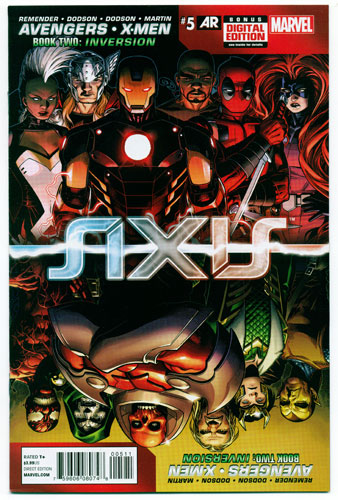 AVENGERS AND X-MEN: AXIS#5