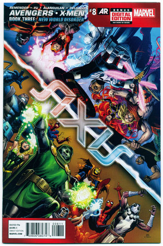 AVENGERS AND X-MEN: AXIS#8