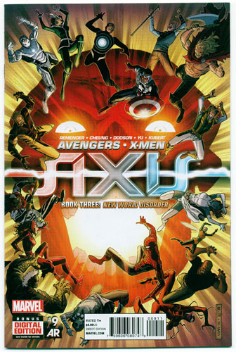 AVENGERS AND X-MEN: AXIS#9