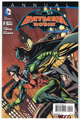 BATMAN AND ROBIN ANNUAL#2