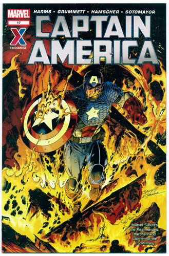 AAFES 17TH EDITION [CAPTAIN AMERICA]#17