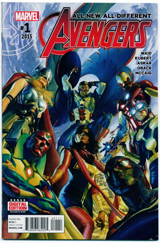 ALL-NEW, ALL-DIFFERENT AVENGERS#1