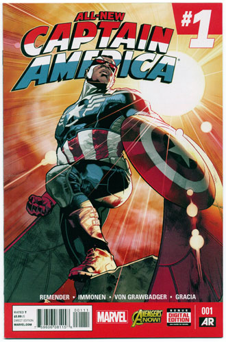 ALL-NEW CAPTAIN AMERICA#1
