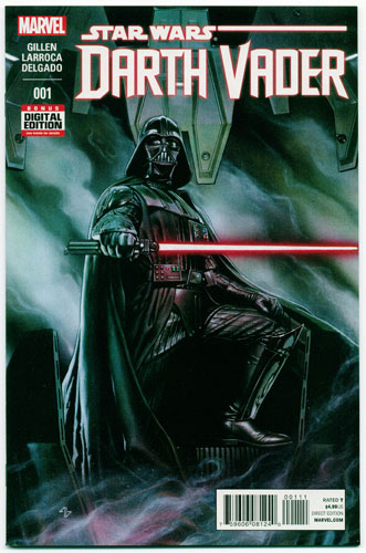 Key Issue cover 2 for DARTH VADER