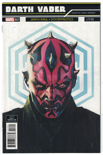 Key Issue cover 4 for DARTH MAUL