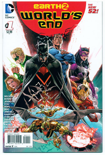 EARTH 2: WORLD'S END#1