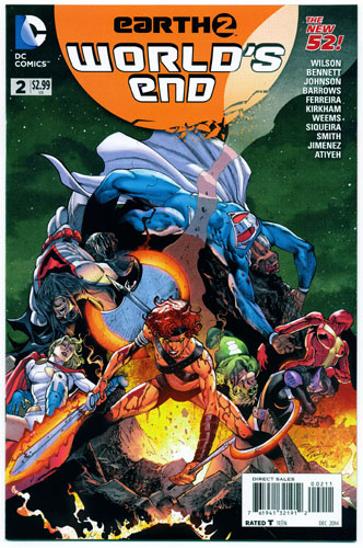 EARTH 2: WORLD'S END#2