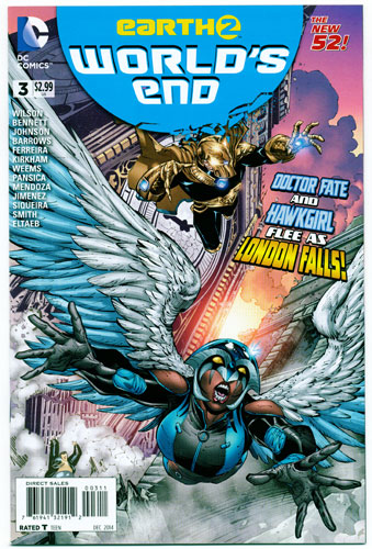 EARTH 2: WORLD'S END#3