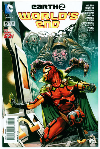 EARTH 2: WORLD'S END#9