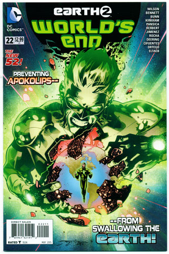 EARTH 2: WORLD'S END#22