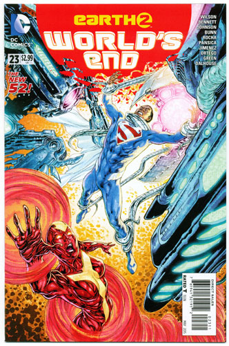 EARTH 2: WORLD'S END#23