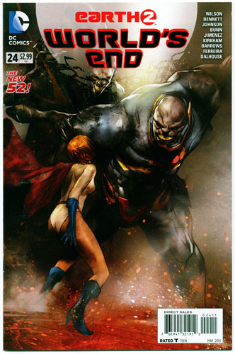 EARTH 2: WORLD'S END#24