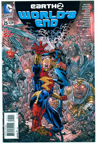 EARTH 2: WORLD'S END#25