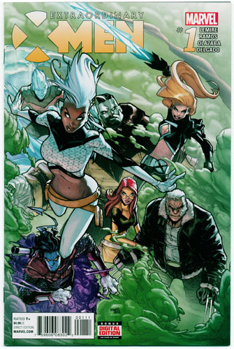 EXTRAORDINARY X-MEN#1